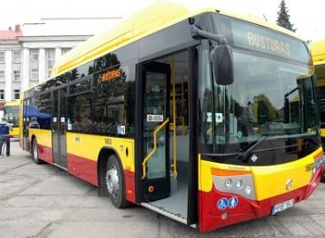 Į Šiaulių miesto gatves išvažiavo ispaniški autobusai