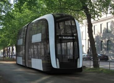 Dviaukščio tramvajaus konceptas – Stokholmui