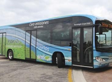 """""""Irizar"""" pristatė elektrinį autobusą"""