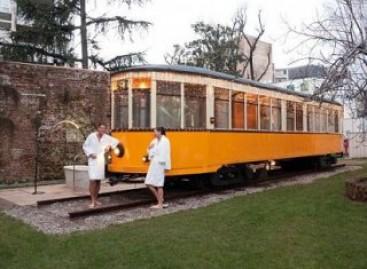 Sauna – tramvajuje