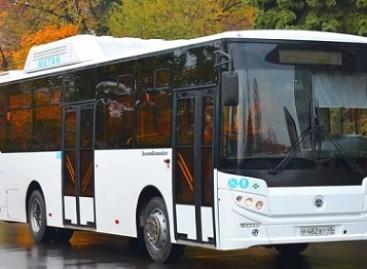 KAVZ pristatė dujinį autobusą