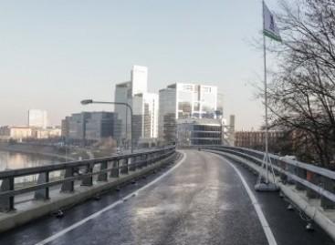 Vilniuje atidaryta Geležinio vilko estakada