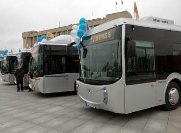 Marijampoliečius sužavėjo nauji autobusai