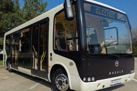 Vengrai pristatė elektrinį autobusą
