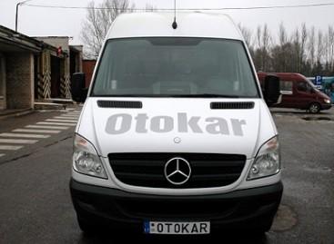 Techninės pagalbos mikroautobusas padės sugedusiems autobusams