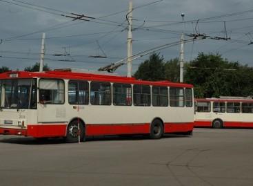 Senieji sostinės troleibusai iškeliaus į Ukrainą