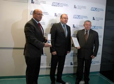 IRU apdovanojimai – geriausiems autobusų vairuotojams