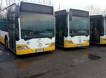 """Šiauliuose keleivius veš """"Mercedes-Benz"""" autobusai"""