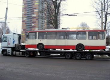 Seniausieji Vilniaus troleibusai iškeliauja į Dnepropetrovską
