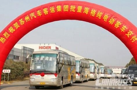 Kinijoje populiarėja elektriniai autobusai