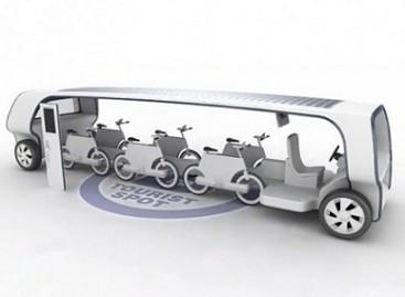 Ko trūksta dviračiui? Autobuso karkaso!