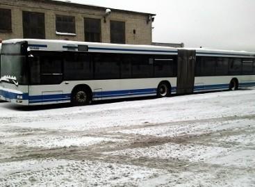 Vilniaus gatvėse – daugiau privačių autobusų bei naujai įsigytieji MAN