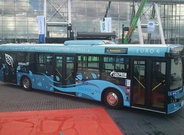 Estijoje bus pristatytas pirmasis suskystintas gamtines dujas naudojantis autobusas