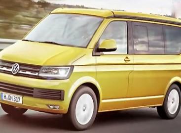 """""""Volkswagen"""" išslaptino informaciją apie """"Transporter T6"""""""