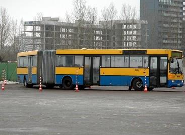Varžybų trasoje paaiškėjo geriausi sostinės autobusų vairuotojai ir vairuotojai sargai