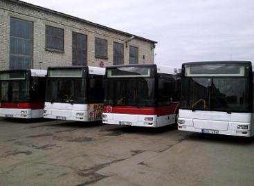 Vilniuje – jau visi dešimt naujai įsigytųjų MAN autobusų