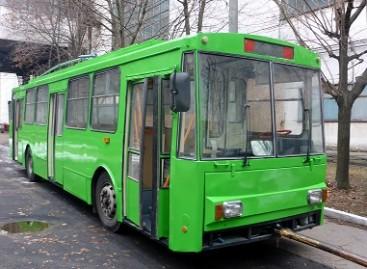 Senieji Vilniaus troleibusai važinės Žitomire