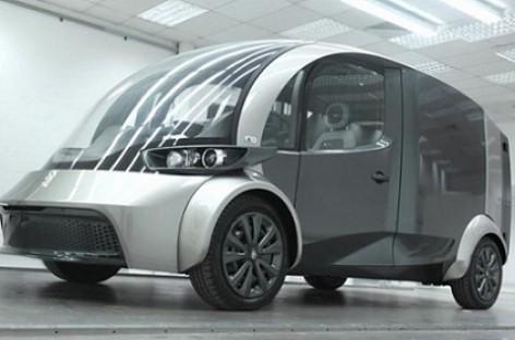 Britai pristatė elektrinį mikroautobusą (video)