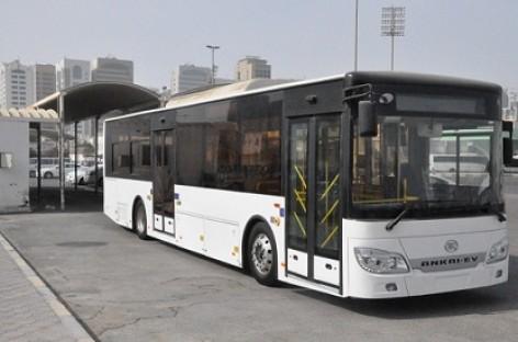 Dubajuje išbandomas elektrinis autobusas