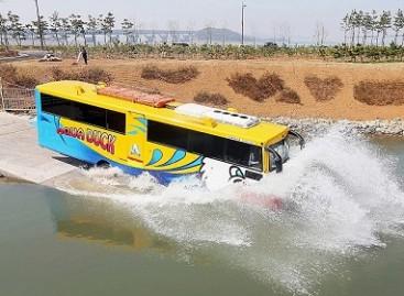 Seule – autobusas amfibija
