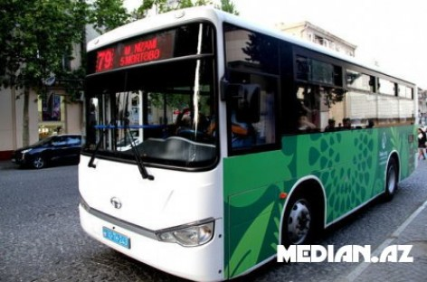 Pakeistas Baku autobusų dizainas
