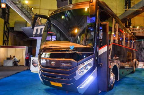 """""""MG Group"""" pristatė autobusą Indijai"""