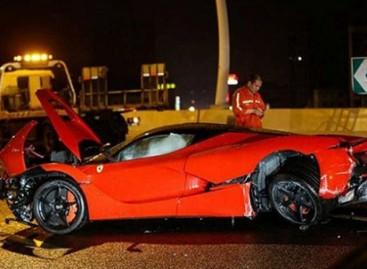 """Ferrari"" avarija – už 3,5 milijonus dolerių"