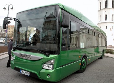 IVECO Urbanway CNG – Klaipėdoje