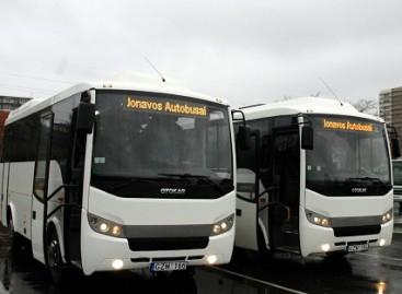 """""""Jonavos autobusų"""" vadovas dirbs kitoje įmonėje"""