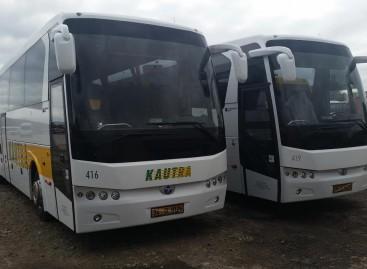 """""""Kautra"""" įsigijo daugiau naujų autobusų"""