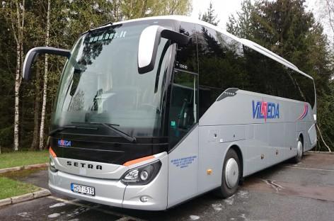 """""""Vilneda"""" užsakovams siūlo jau tris moderniausius """"Setra"""" autobusus"""