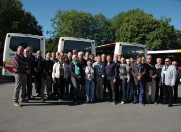 Keleivių vežėjai lankosi Švedijoje
