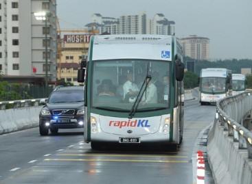 Malaizijoje – greitųjų elektrinių autobusų sistema