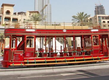 Dviaukštis troleibusas – Dubajuje