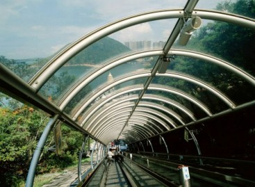 Viešojo transporto rūšis Honkonge – eskalatoriai
