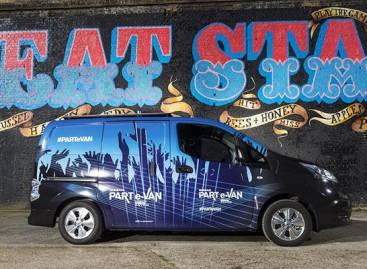 """""""Nissan PART e-VAN"""": automobilis parodoms"""