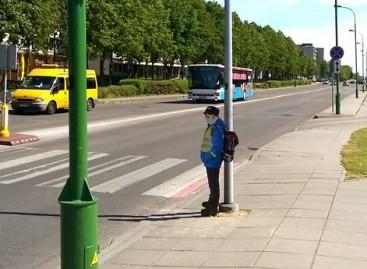 Uostamiestyje – nestandartinės eismo saugumo priemonės (video)