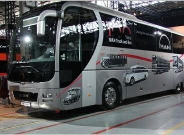 100 naujų autobusų MAN 100-mečiui