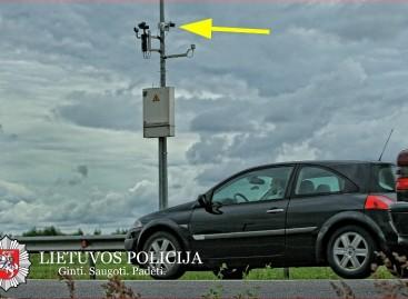 Naujas greičio matavimo būdas: policija pradeda matuoti vidutinį važiavimo greitį (video)