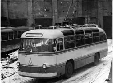 Troleibusai – iš LAZ autobusų