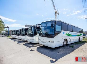"""""""Volgabus"""" pristatė dujinius miesto autobusus"""
