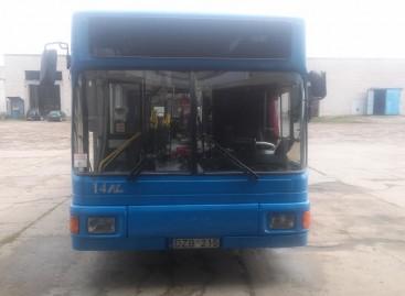 Kaip atrodys naujai perdažyti Klaipėdos autobusai?