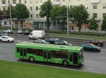 """""""Minsktrans"""" pirks 10 dujinių autobusų"""
