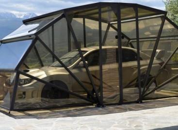 Italai sukūrė originalų sulankstomą garažą (video)