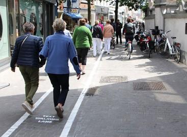Antverpene – pėsčiųjų juostos kalbantiems telefonu