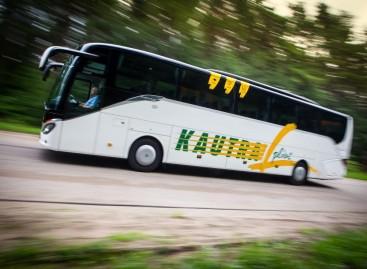 Naujuosiuose autobusuose – naujos paslaugos keleiviams