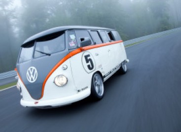 "Sportinis mikroautobusas ""Volkswagen Race Taxi"""