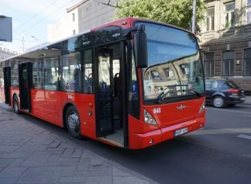 """Kaune – 20 pavažinėtų """"Vanhool"""""""