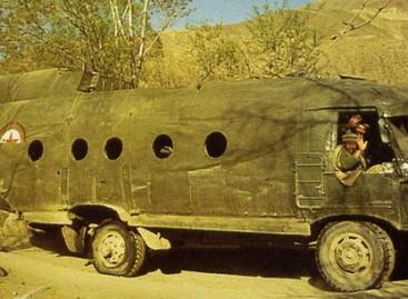 Originalus autobusas – iš Afganistano