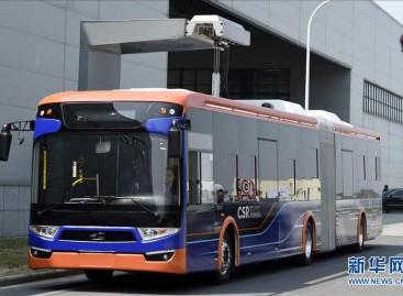 Kinijoje – ypač greitai įkraunami elektriniai autobusai